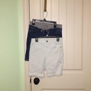 Set of 2 Justice Girls Denim Shorts Size 14